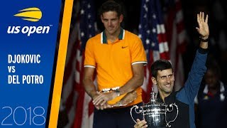 Novak Djokovic vs Juan Martin del Potro Full Match | US Open 2018 Final