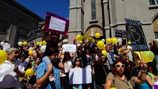 Masiva marcha tras muerte de joven en Concepción - CHV NOTICIAS
