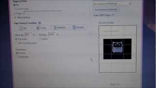 """Video 3: """"how To Print An Enlarged Version Of Your Purchased Crochet Graph Pattern"""""""