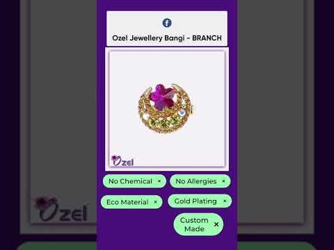 Baby Brooch Ozel Design Bulan&Bintang