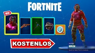 Fortnite REFLEX SKIN STYLES Unlock? (that's how it goes)