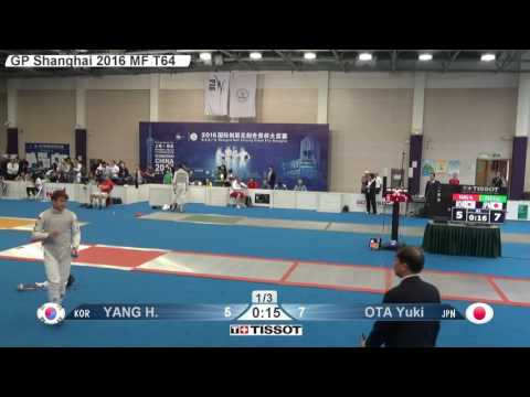 YANG KOR vs OTA JPN - T64 Shanghai Grand Prix 2016