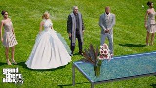 GTA 5 REAL LIFE MOD#122-FRANKLIN'S WEDDING!