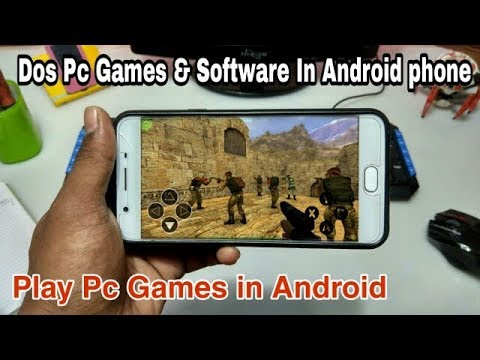 Play Dos Pc Games In Android Phone | Pc Games & Software's In Android | Dos Box Turo