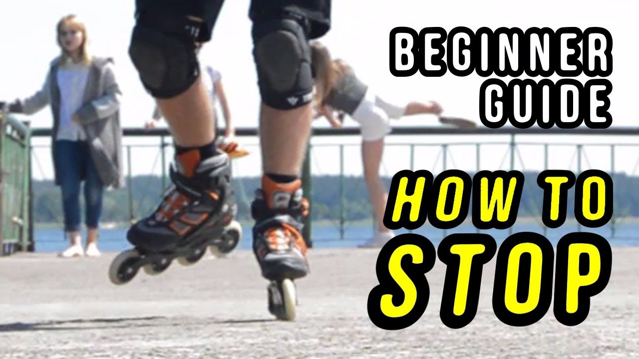 How To Stop On Rollerblades Beginner S Guide 5 Youtube