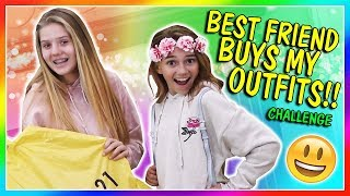 BEST FRIEND BUYS MY OUTFITS ft. KAYLA & VANESSA | We Are The Davises