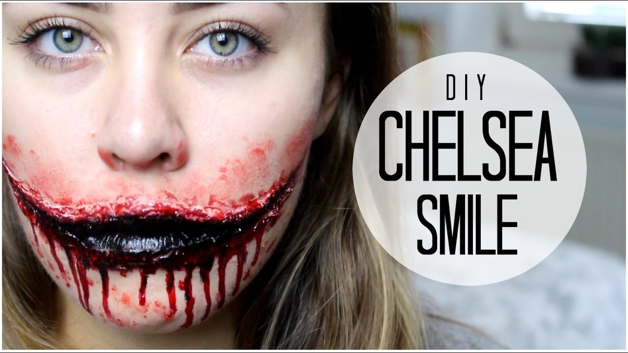 How To: Easy DIY Chelsea Smile | only using lash glue