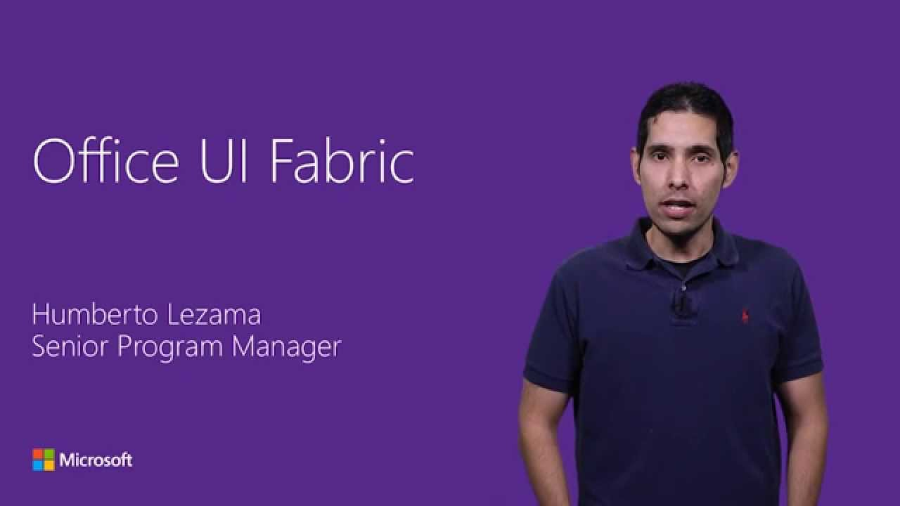 Office UI Fabric