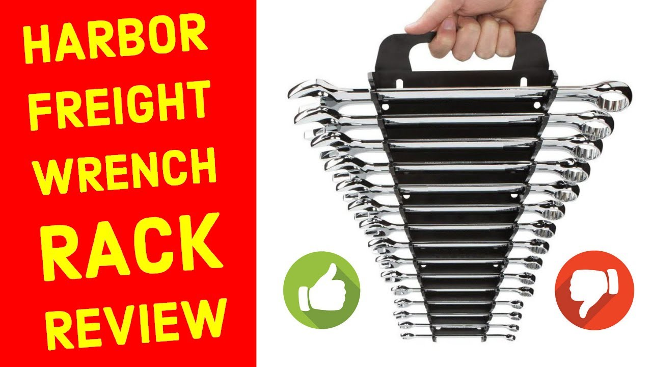 Harbor Freight Pittsburgh Wrench Rack Review Plus Free DIY Wrench Rack Tool Organizer