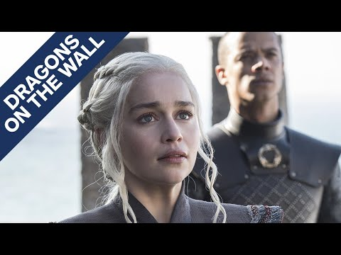 "Game of Thrones: ""Dragonstone"" - Dragons on the Wall"