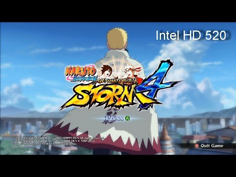 Naruto Shippuden: Ultimate Ninja Storm 4 | On Intel HD 520 |