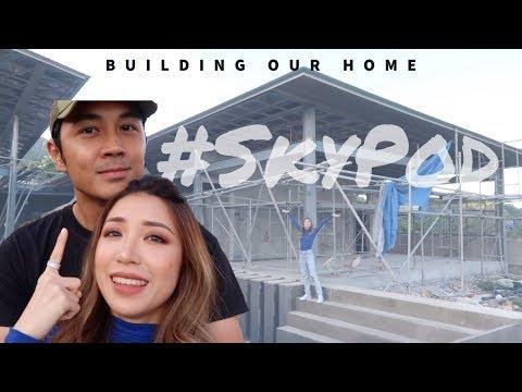 #SkyPod Tour- Building Our Home | Kryz And Slater