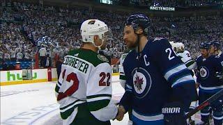Handshakes: Jets beat Wild in five games