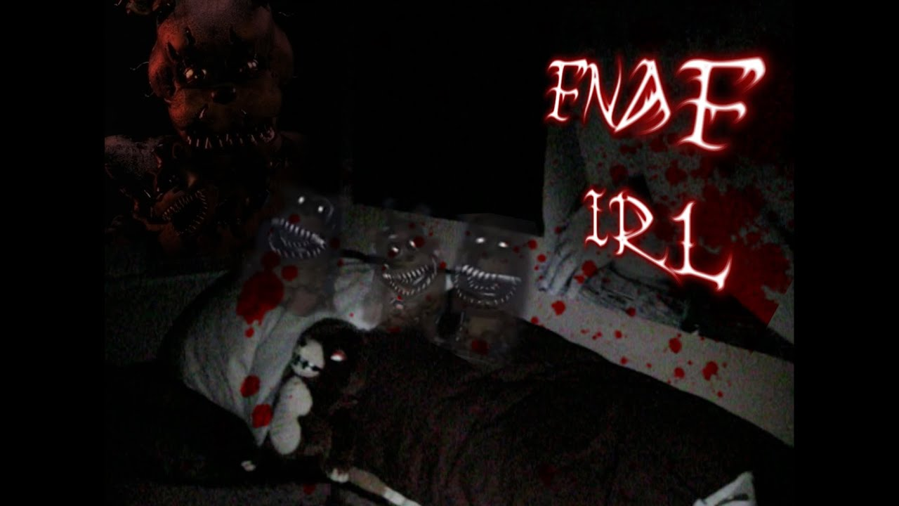 Fnaf 4 in real life night 1 youtube