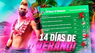 THE *14 DAYS OF SUMMER* OF FORTNITE ARE ALREADY HERE!! *FREE GIFTS*