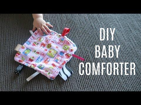 DIY BABY COMFORTER | DIY BABY TAGGY BLANKET