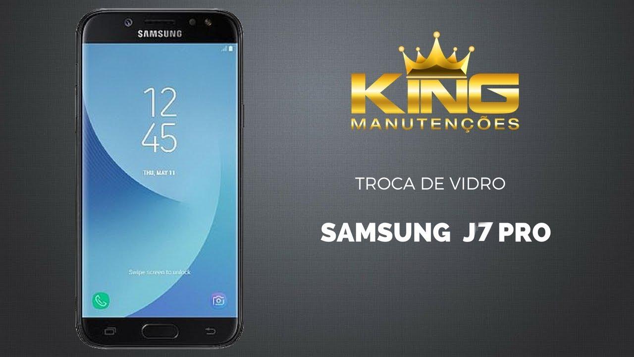 63fe9d881a Assistência Samsung como trocar só a tela vidro J7 Pro - YouTube