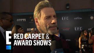 "John Travolta Talks ""Gotti"" and Playing Real Life Characters | E! Red Carpet & Award Shows"