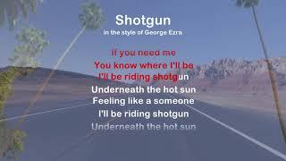 Shotgun - ProTrax Karaoke Demo
