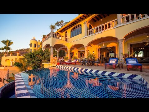 Hacienda De Los Santos - Puerto Vallarta House Rentals with Chef