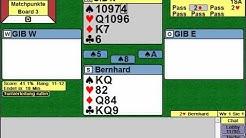 Let's play Bridge #001 Erstes Turnier Boards 1-4