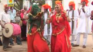 Dhol Baaje | Rajasthani Traditional Dance Song | Marwadi Dhol Music | Rajasthani Songs 2014