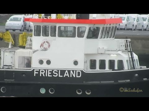 research survey vessel Friesland IMO 9031387 DBPE inbound Emden Messschiff