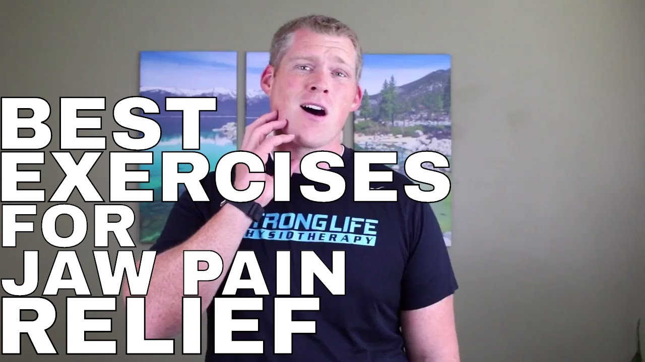 Tmj Tmd Pain Relief Exercises Youtube