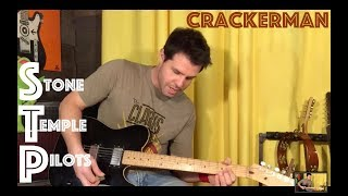 Guitar Lesson: How To Play Crackerman By Stone Temple Pilots