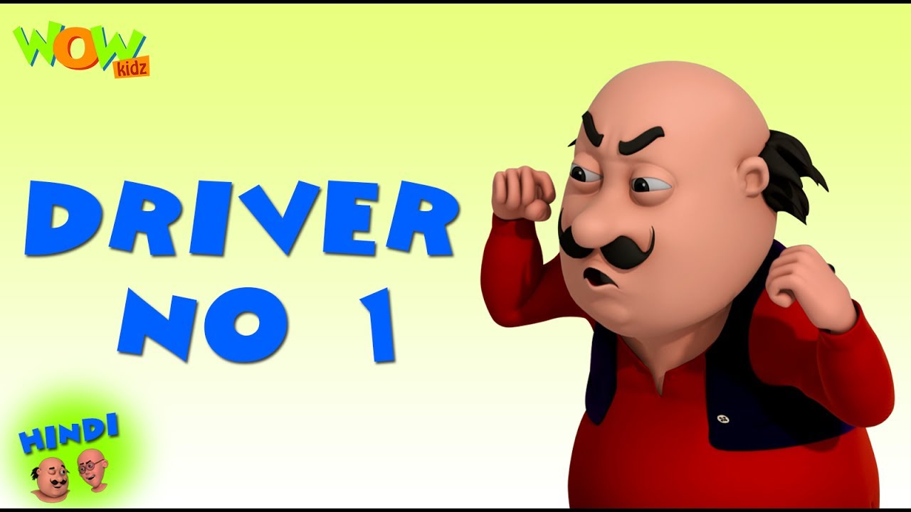 Driver No.1  - Motu Patlu in Hindi - 3D Animation Cartoon - As on Nickelodeon