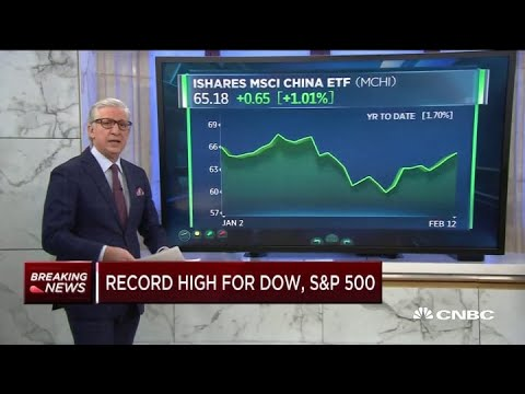 Dow and S&P reach record highs as stocks open