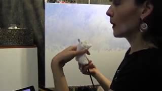 Копируем картину Клода Моне, импрессионизм 1