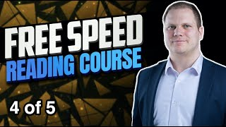 Free speed reading course (4/5)