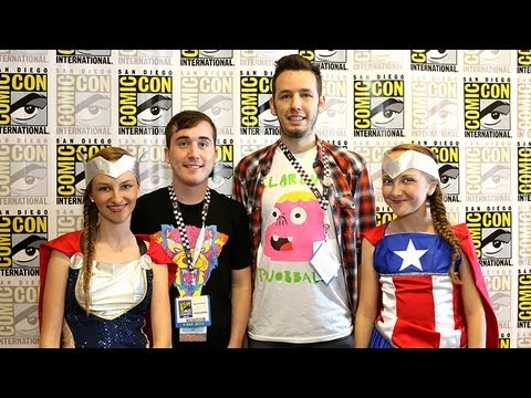 """Cartoon Network's """"Clarence"""" Skyler Page and Spencer Rothbell interview at COMIC-CON"""