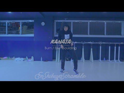 """KANATA """" Burn / Ellie Goulding """"@En Dance Studio SHIBUYA SCRAMBLE"""
