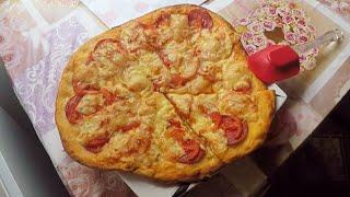 Рецепт домашней пиццы/Как сделать тесто для пиццы