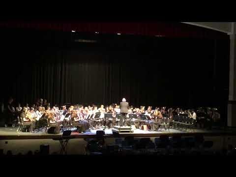 Hampton Cove Middle School Band 4/26/2018