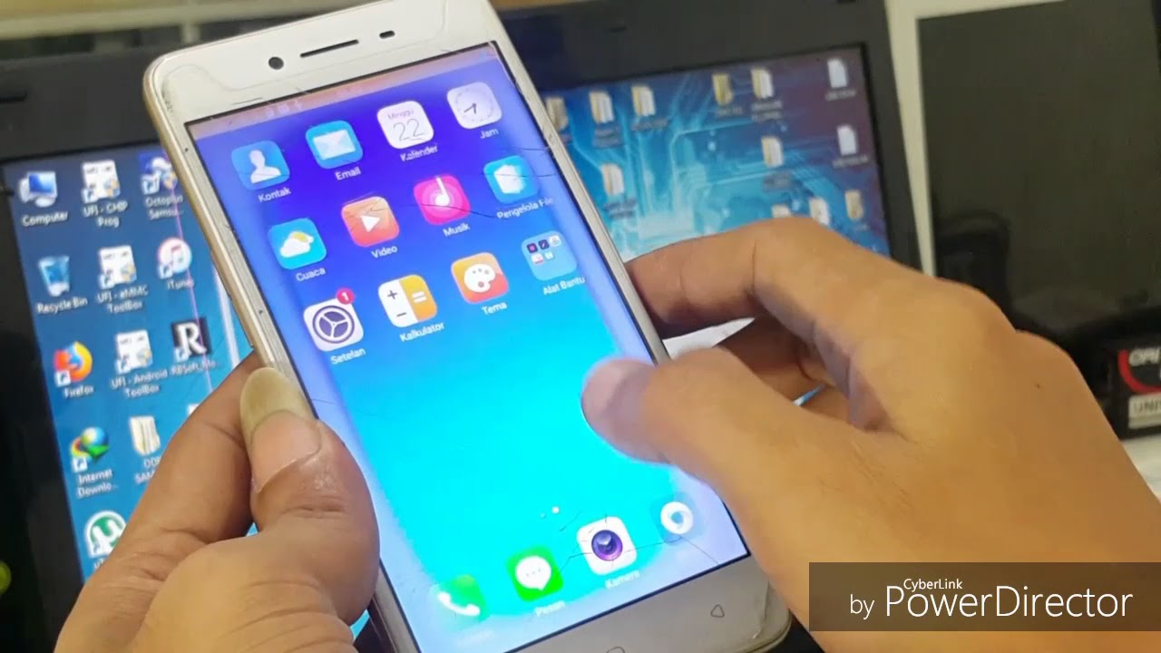 Root Oppo A37/A37F Termudah 100% Done