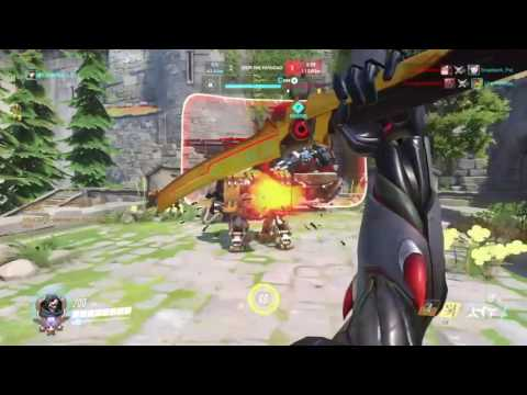 SALTY PLAYER WHO THINKS HE IS THE BEST ON OVERWATCH