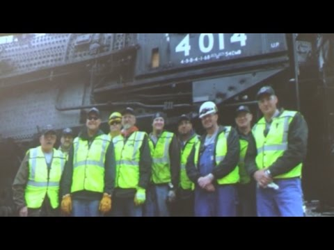 Union Pacific 844 & 4014 Progress Report-March 2016 pt 1 of 2