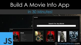 Build A JavaScript & jQuery Movie Info App in 30 Minutes