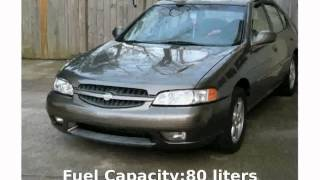 2001 Nissan Altima Features