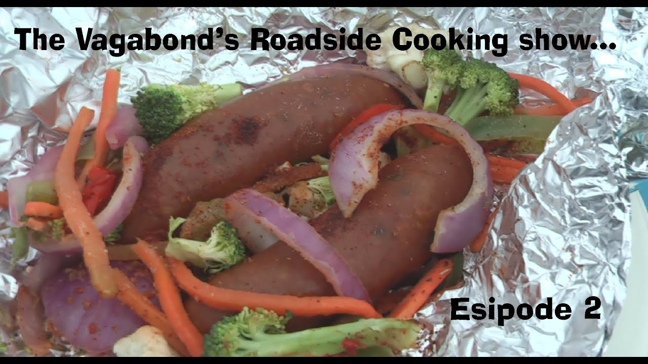 Roadside cooking show - with the Vagabond who lives in his van by wazooloo