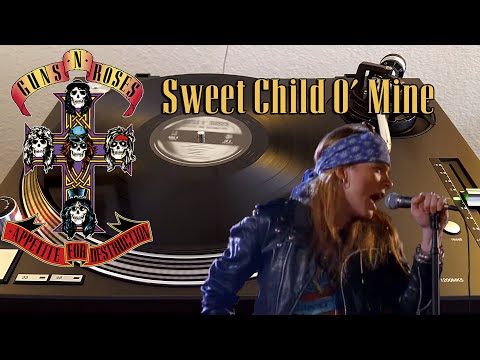 guns-n'-roses---sweet-child-o'-mine---black-vinyl-lp