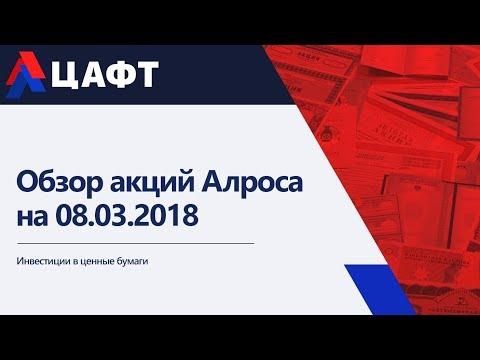 Обзор акций Алроса на 08.03.2018
