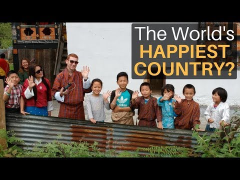 The World's Happiest Country?! (GROSS NATIONAL HAPPINESS)