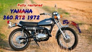 1972 Yamaha 360 RT2 . Restored better than new from a boneyard scrap .