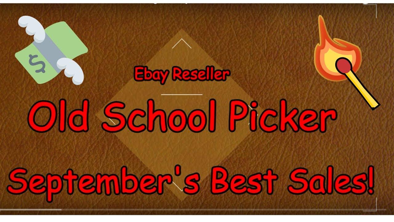 September S Best Sale Items That I Sold On Ebay In September Youtube