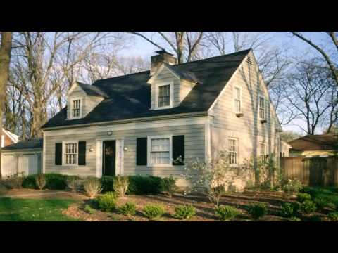 Traditional Cape Style House Plans