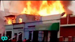 Incendio consumió dos habitaciones de madera en el Callao